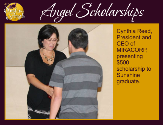 Sunshine Angels Scholarships